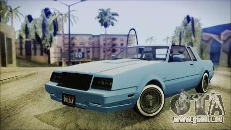 GTA 5 Willard Faction Custom IVF pour GTA San Andreas