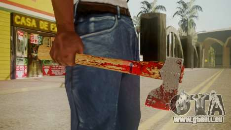 GTA 5 Katana pour GTA San Andreas troisième écran