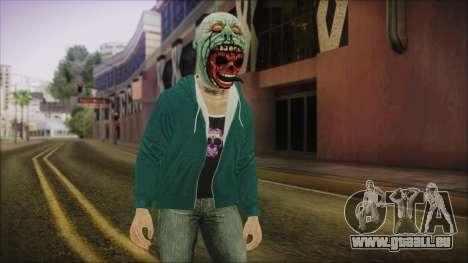 DLC Halloween GTA 5 Skin 1 pour GTA San Andreas