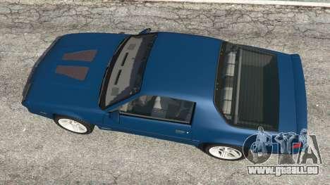 GTA 5 Chevrolet Camaro IROC-Z [Beta 3] Rückansicht