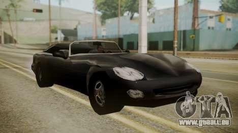 Banshee III für GTA San Andreas zurück linke Ansicht