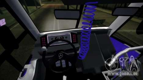 Mercedes-Benz Ayco Zafiro Influyente pour GTA San Andreas vue de droite
