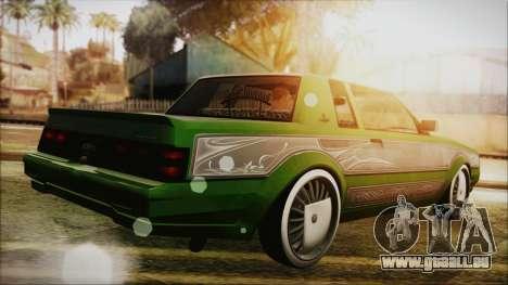 GTA 5 Faction LowRider DLC für GTA San Andreas linke Ansicht