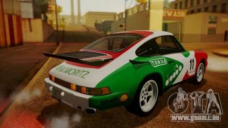 RUF CTR Yellowbird (911) 1987 HQLM für GTA San Andreas Innen