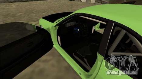 Nissan Skyline R33 Drift pour GTA San Andreas vue intérieure