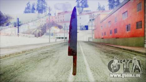 Helloween Butcher Knife für GTA San Andreas zweiten Screenshot