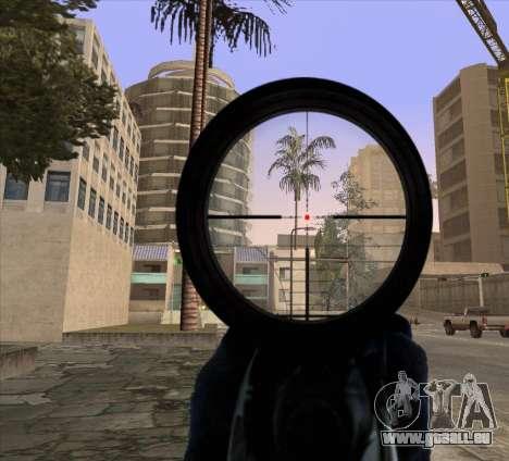 Sniper Scope v2 für GTA San Andreas zweiten Screenshot