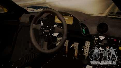 McLaren F1 GTR 1998 HarmanKardon pour GTA San Andreas vue de droite
