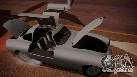 Mercedes-Benz 300 SL (W194) 1952 IVF АПП für GTA San Andreas Seitenansicht