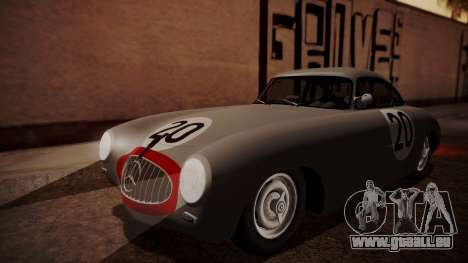 Mercedes-Benz 300 SL (W194) 1952 HQLM pour GTA San Andreas vue de dessus