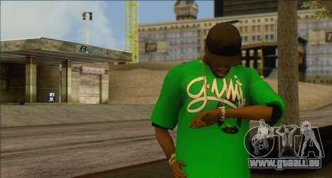 Watches Mod pour GTA San Andreas troisième écran
