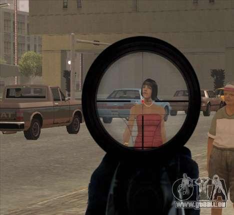 Sniper Scope v2 für GTA San Andreas her Screenshot
