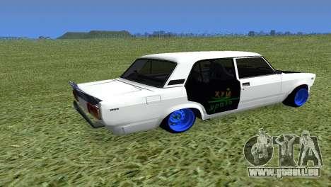 VAZ 2105 Bq Final pour GTA San Andreas laissé vue