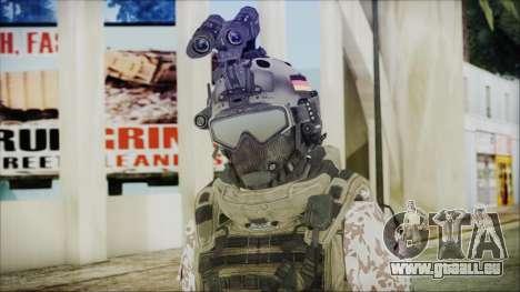 Bundeswehr Desert v3 pour GTA San Andreas