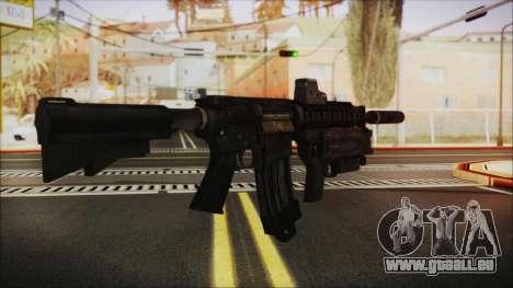 M4 SpecOps pour GTA San Andreas deuxième écran