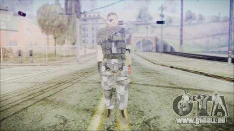 MGSV Phantom Pain Snake Scarf Square pour GTA San Andreas deuxième écran
