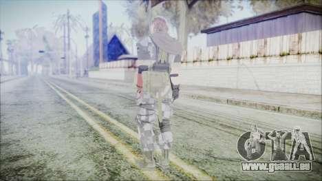 MGSV Phantom Pain Snake Scarf Square pour GTA San Andreas troisième écran
