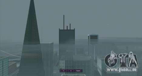 SampGUI Violet pour GTA San Andreas troisième écran