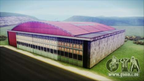 HD Desert Hangar Mipmapped pour GTA San Andreas troisième écran