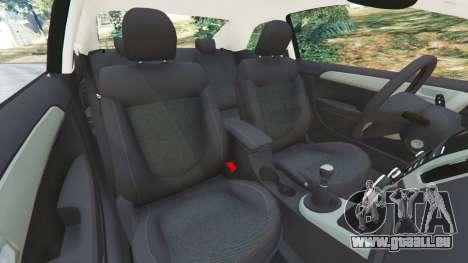 GTA 5 Kia Forte Koup SX [Beta] droite vue latérale
