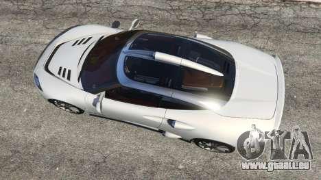 Spyker C8 Aileron für GTA 5