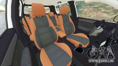 GTA 5 Volkswagen Golf Mk6 v2.0 [ABT] rechte Seitenansicht