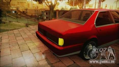 Sentinel PFR HD v1.0 für GTA San Andreas rechten Ansicht
