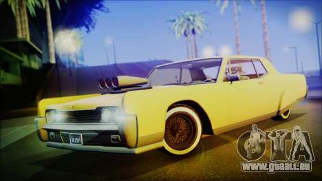 GTA 5 Vapid Chino Hydraulic Version IVF pour GTA San Andreas
