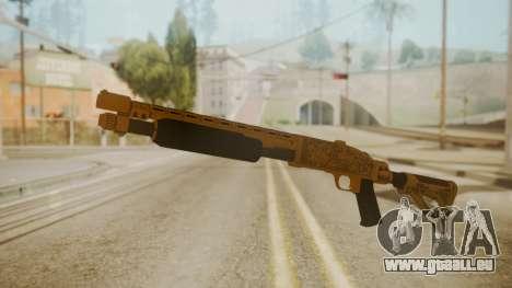 GTA 5 Pump Shotgun pour GTA San Andreas