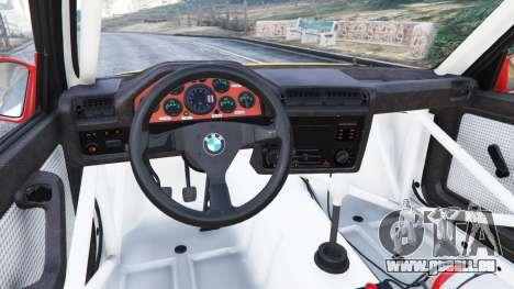 GTA 5 BMW M3 (E30) 1991 [10 strikes] v1.2 droite vue latérale