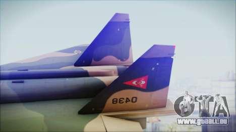 Mikoyan MIG 1.44 Flatpack Venezuelan Air Force pour GTA San Andreas sur la vue arrière gauche
