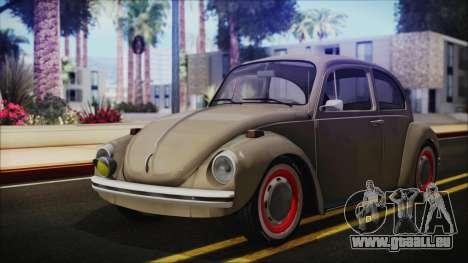 Volkswagen Beetle 1973 für GTA San Andreas