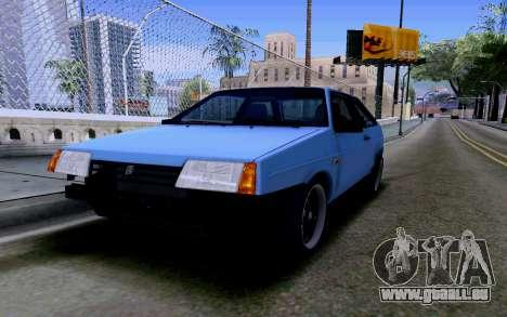 VAZ 2108 V2 für GTA San Andreas obere Ansicht
