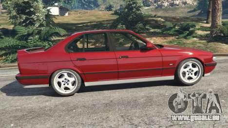 BMW M5 (E34) 1991 pour GTA 5