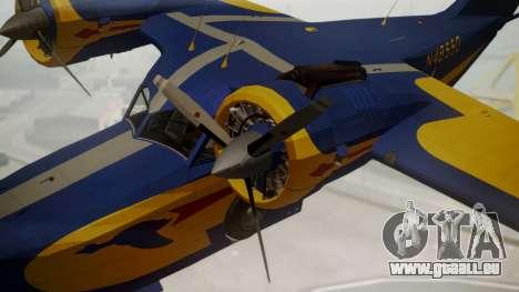 Grumman G-21 Goose N48550 pour GTA San Andreas vue de droite