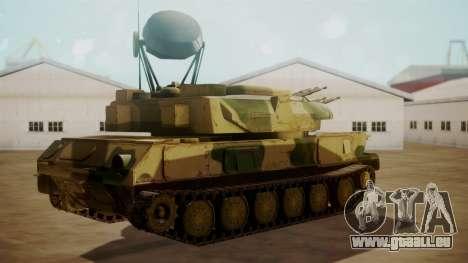 ZSU-23-4 Shilka pour GTA San Andreas laissé vue
