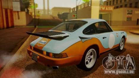 RUF CTR Yellowbird (911) 1987 HQLM pour GTA San Andreas roue