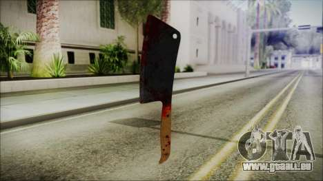 Helloween Butcher Knife Square für GTA San Andreas