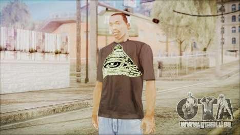 Illuminati T-Shirt für GTA San Andreas