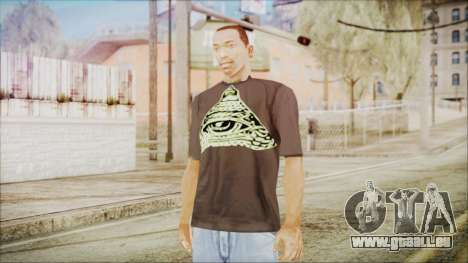 Illuminati T-Shirt pour GTA San Andreas