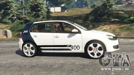 GTA 5 Volkswagen Golf Mk6 v2.0 [ABT] vue latérale gauche