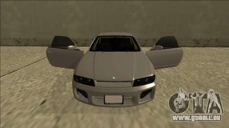 Nissan Skyline R33 Drift pour GTA San Andreas salon