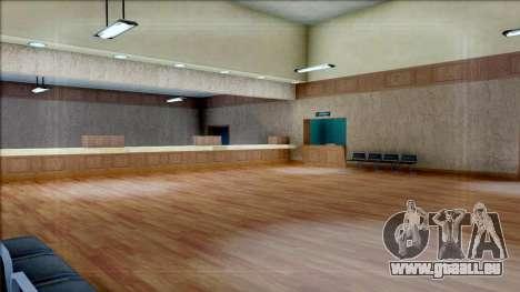 New Interior for SFPD für GTA San Andreas siebten Screenshot