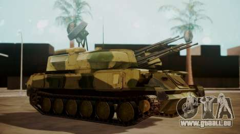 ZSU-23-4 Shilka pour GTA San Andreas