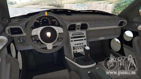 GTA 5 Porsche 911 (997) GT3 RS 2007 hinten rechts
