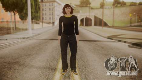 GTA Online - Custom Girl (Lowrider DLC Clothes) pour GTA San Andreas deuxième écran