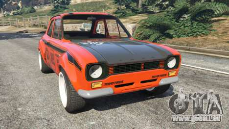 Ford Escort MK1 v1.1 [HRE] pour GTA 5