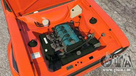 GTA 5 Ford Escort MK1 v1.1 [HRE] arrière droit vue de côté