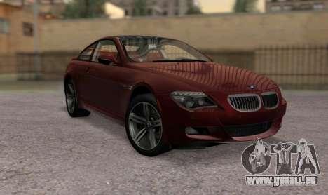 BMW M6 E63 für GTA San Andreas