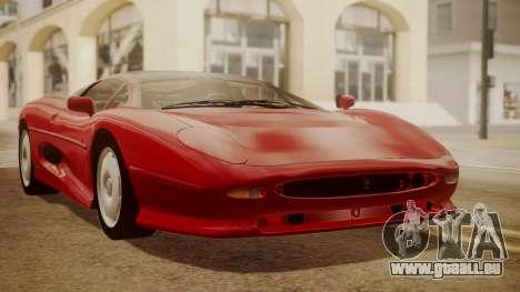 Jaguar XJ220 1992 HQLM pour GTA San Andreas